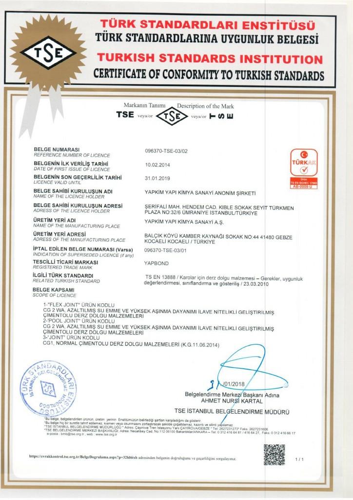 TS EN 13888-1